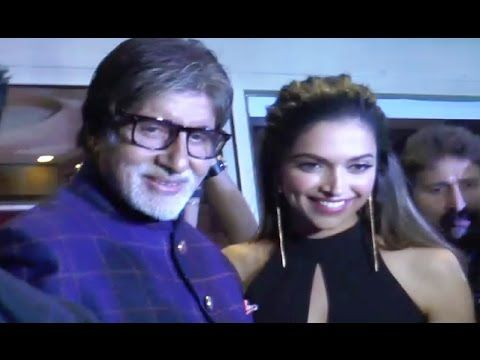Deepika Padukone & Amitabh Bachchan at HT Most Stylish Awards 2017.