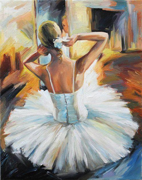 Ballerina Girl Oil Painting By Anastassiaart 175 00 On
