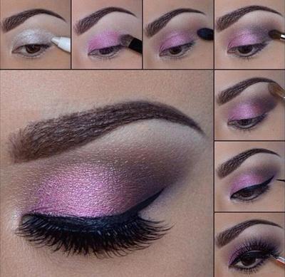 Makeup Artist ^^ | https://pinterest.com/makeupartist4ever/  tutorial sombra morada-0