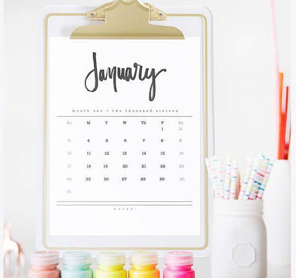 calendrier mensuel 2016 à imprimer calendrier 2017 a imprimer ...