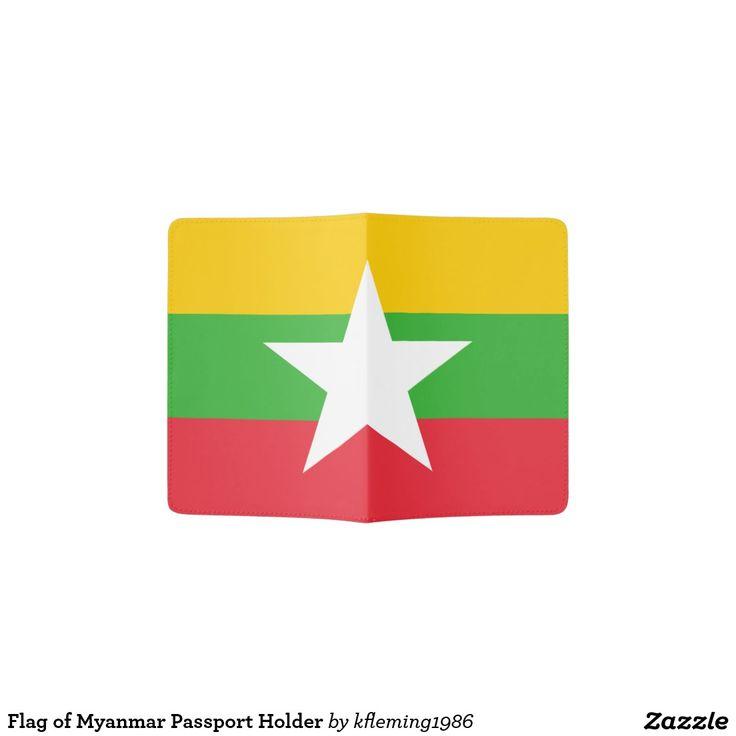 Flag of Myanmar Passport Holder