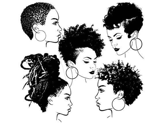 38+ Afro american woman clipart information