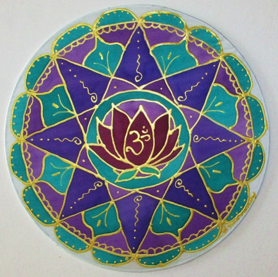 "Lotus mandala, ""Spiritual Abundance"", mandala art. yoga art, spiritual art, new age art, metaphysical art, lotus art on Etsy, $34.00"