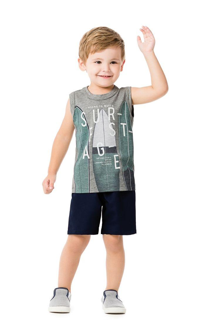 Malwee Kids - Regata Masculino Infantil
