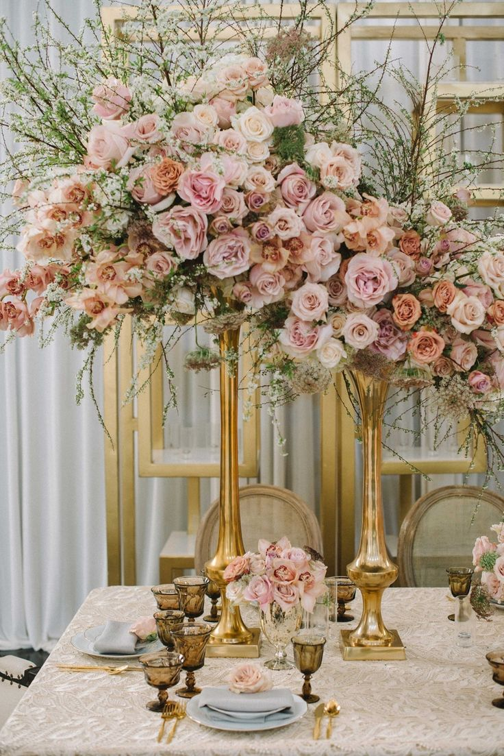 Best gold vases ideas on pinterest painted