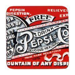 Porta Copos Free Retrô 6 Peças - Pepsi