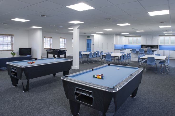 Ready for some team working in this office? Looks like a fun place to work. huntsoffice.co.uk
