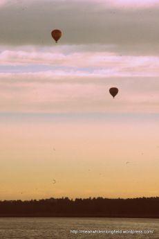 Helsinki, kuumailmapallo, hot air balloon