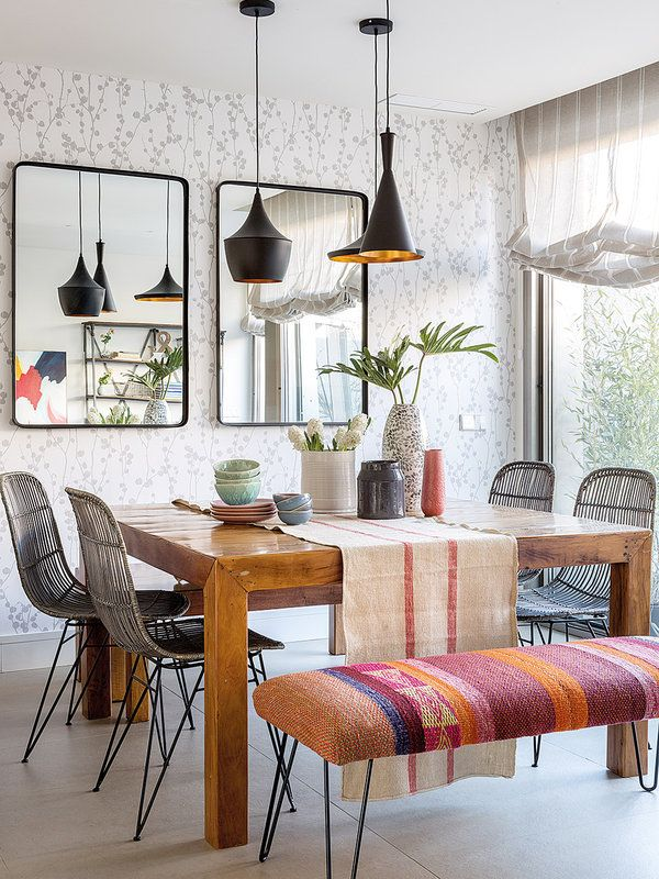 Warm, welcoming and bright decor for a newly built home