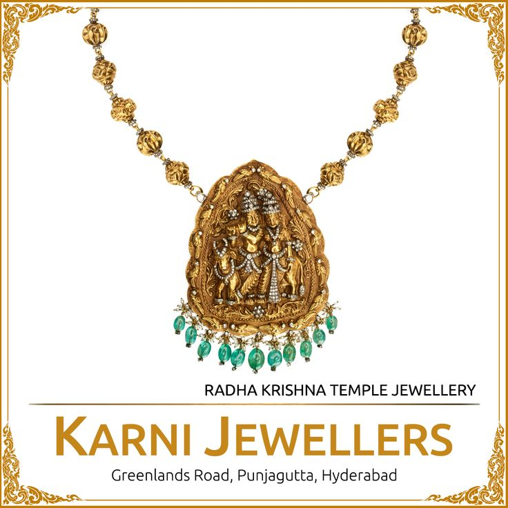 Radha Krishna Temple Jewellery - A pure reflection of devotion and worship.