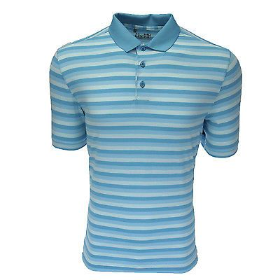 Under Armour Men's Optical Stripe Polo Alpine M