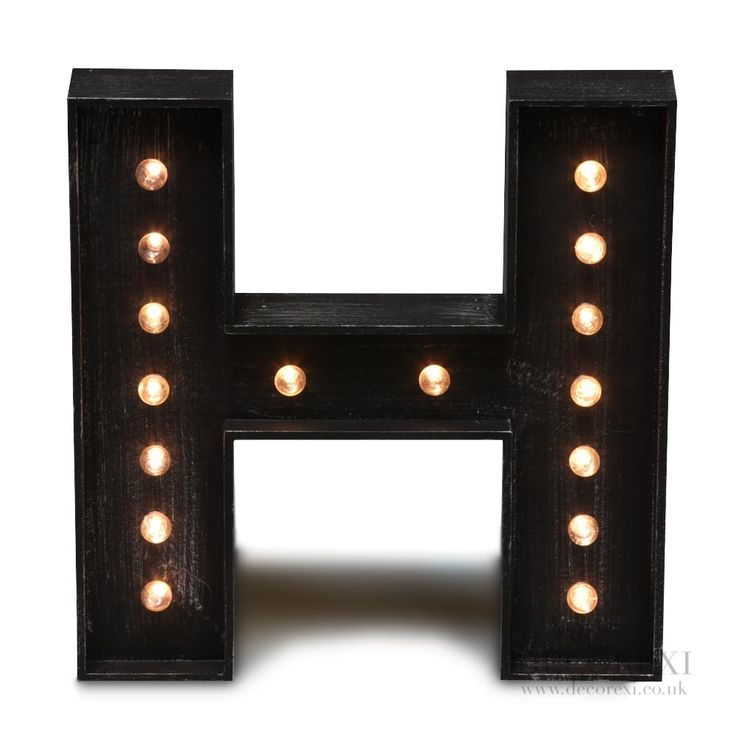 17 best Vintage Letter Lights images on Pinterest | Light letters ...