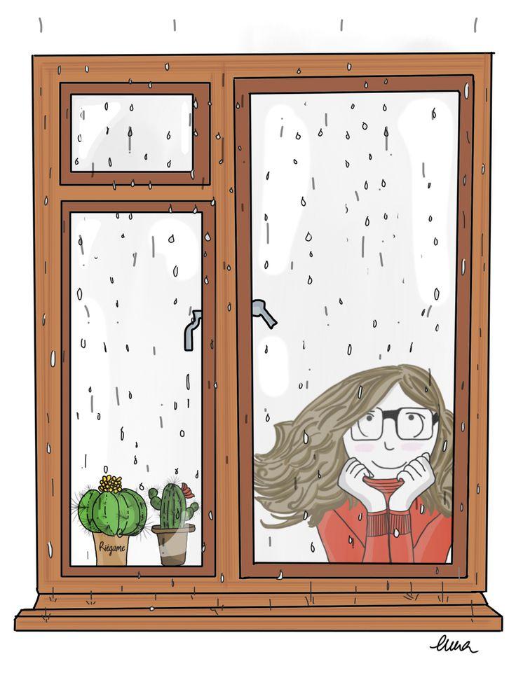 Fin de semana de lluvia, fin de semana para disfrutar de estar en casa.