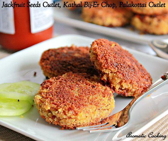 Palakottai Recipes, Jackfruit Seeds Recipes, Jackfruit seeds cutlets, Palakottai Cutlets, Bengali JAckfruit Seeds Cutlets