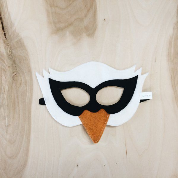 Swan Mask by Opposite of Far | Opposite of Far- play + imagine