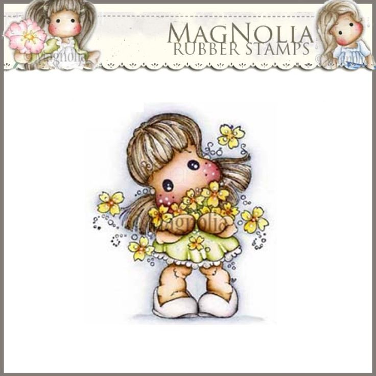magnolia rubber stamp   sa 15 golden week tilda magnolia