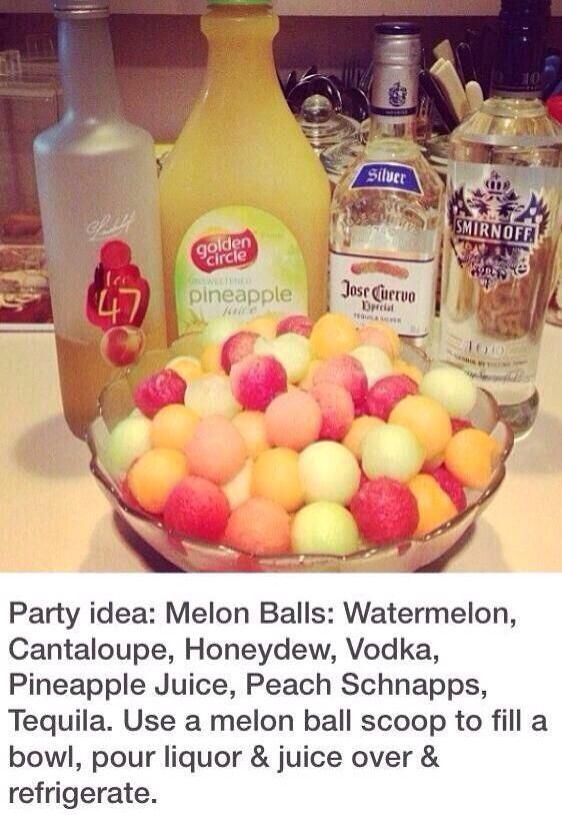 Party Idea! #Food #Drink #Trusper #Tip