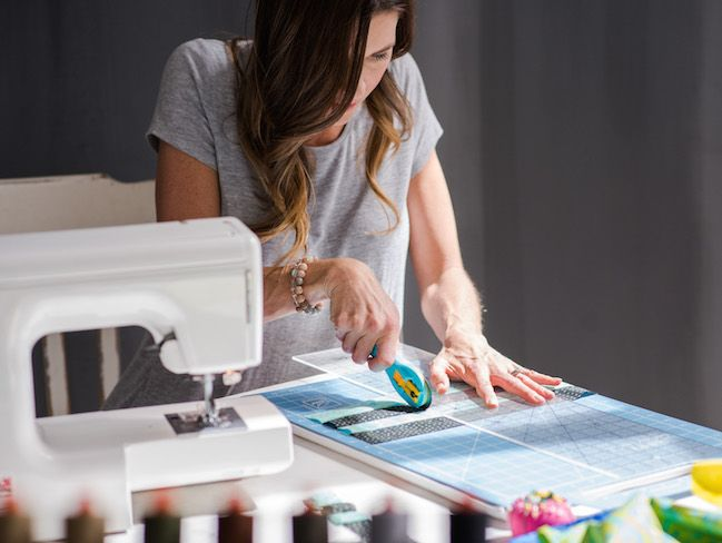 Rotary cutters can be an efficient way to cut fabric, but it's not just for quilters! Learn tips on how to cut your next project with 13 must-know tips.