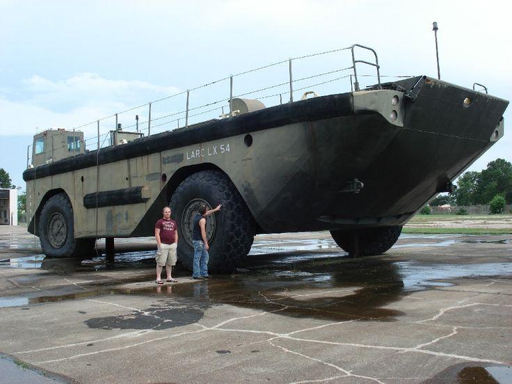 LARC LX landing craft of the US army