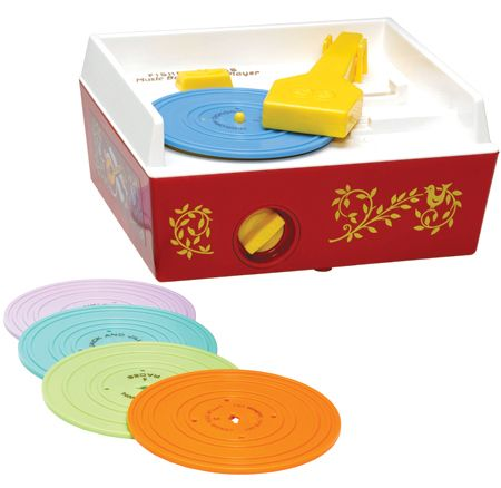 Fisher Price Classic Toy - Record Player by Schylling - $36.95 WOW! should of held on to the one I had for my kids! lol!