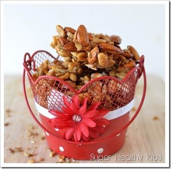 Love those cashew clusters in a bag...from scratch...even better!!!  Healthful yet delicious!