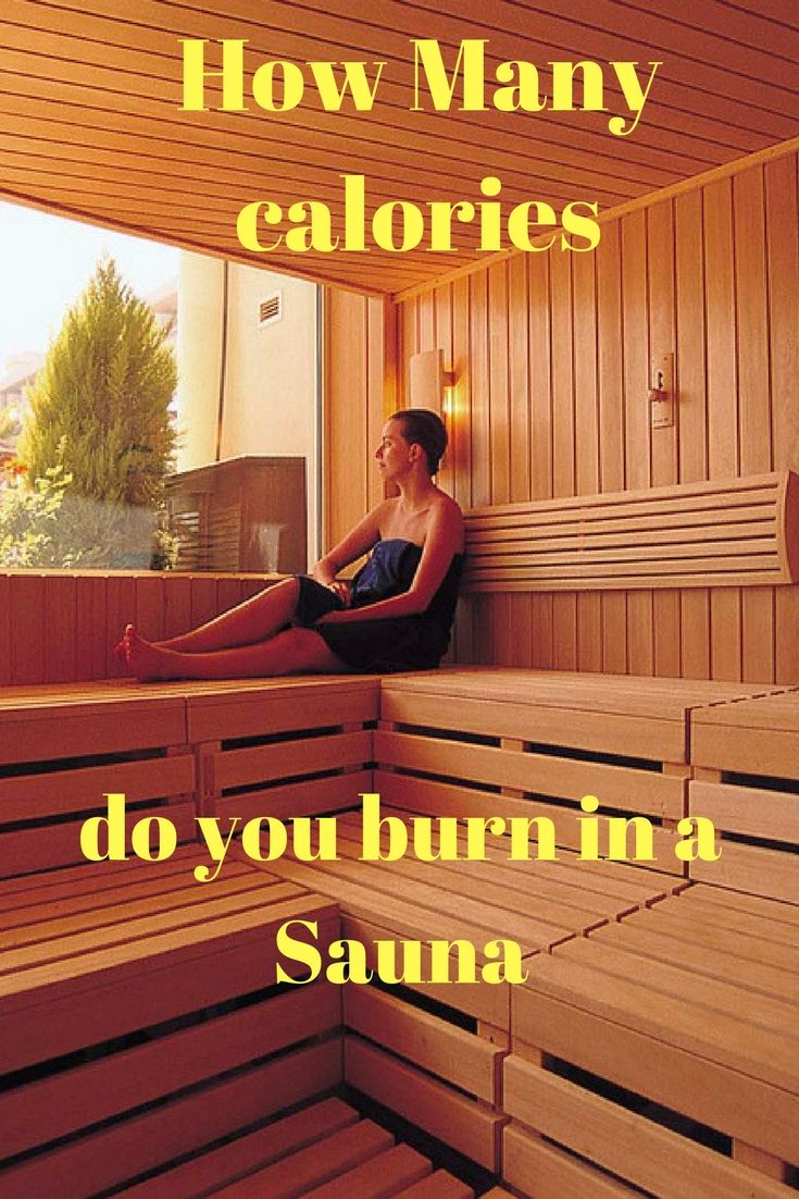 How Many calories do you burn in a Sauna | Apple cider ...