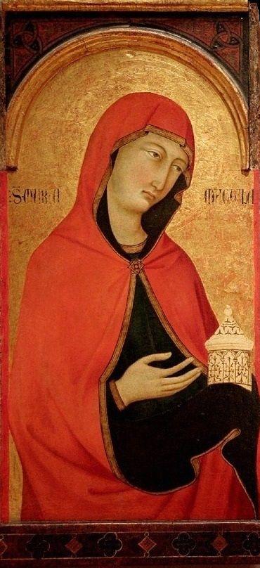 Уголино ди Нерио. Св. Мария Магдалина. ок. 1320г. Музей Зала Почётного легиона, Сан Франциско.