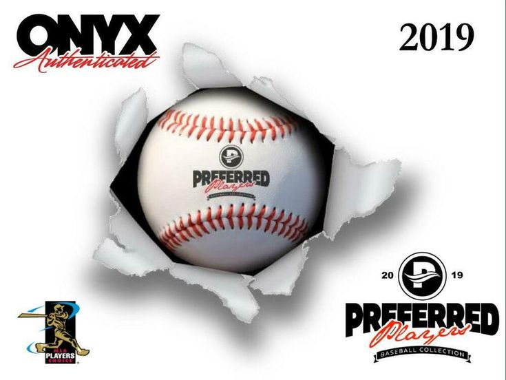 2019 onyx preferred player collection autographed baseball