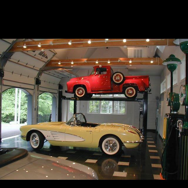 Cars Collector Garages: 98 Best Beautiful Garages Images On Pinterest