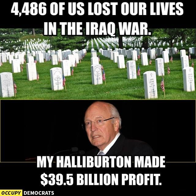 Very Deepwater horizon halliburton dick cheney doing with life