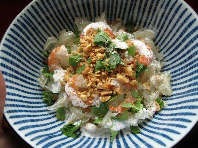 salade thaï au pomelo