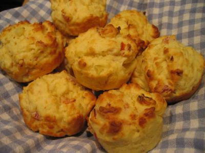 Savoury Bacon Muffins