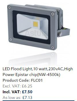 The #LED flood light offers a bright white source of #light which attracts the masses to buy it and fix it in any place of their wish. It is not limited in bright effect but also has numerous uses if once you start using it. If you make up to 80% of the savings on #electricity then the cost of making the use of the LED flood lights may be reduced to a lower amount.   #consumerlights #electronics #electricity #ledlights #home #business #garden #lighting #blackburn #unitedkingdom #uk #power
