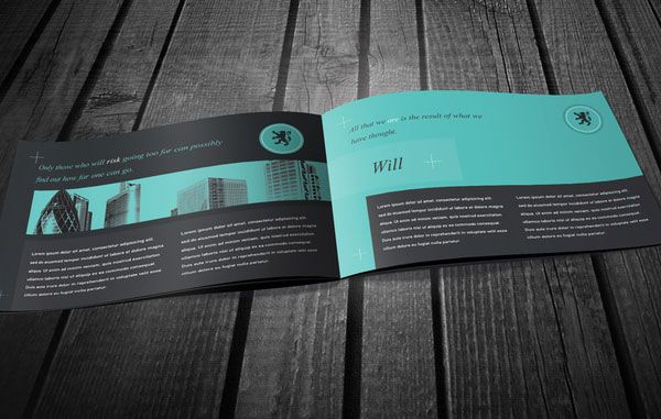 Beautiful Business Brochure Design Ideas   Simple Yet