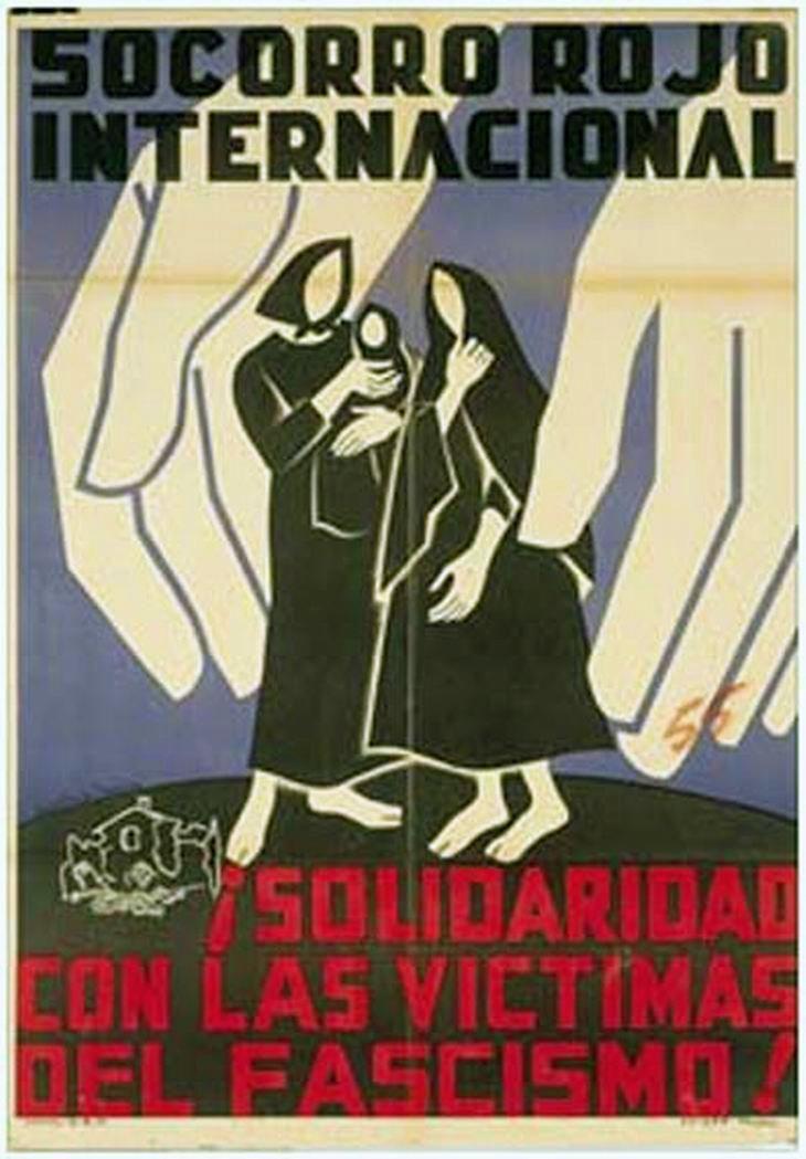 Republic propaganda poster   Spanish civil war 1936/39 #Afiches #Carteles #Spain #Guerra #Posters @deFharo