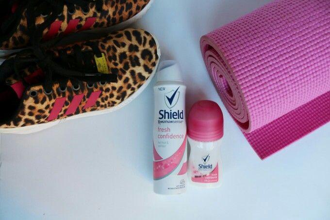 Shield Motion Sense review. Adidas animal print zx flux and pink yoga mat