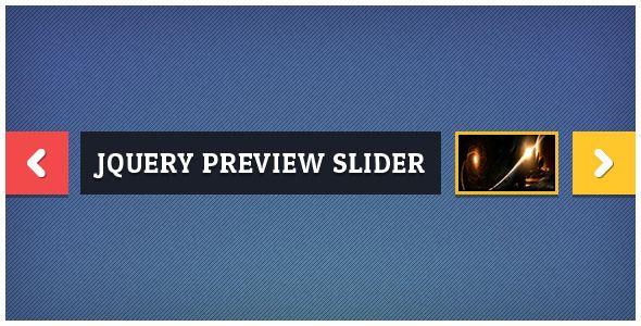 jQuery Preview Slider (Sliders) - PROFIREFOX
