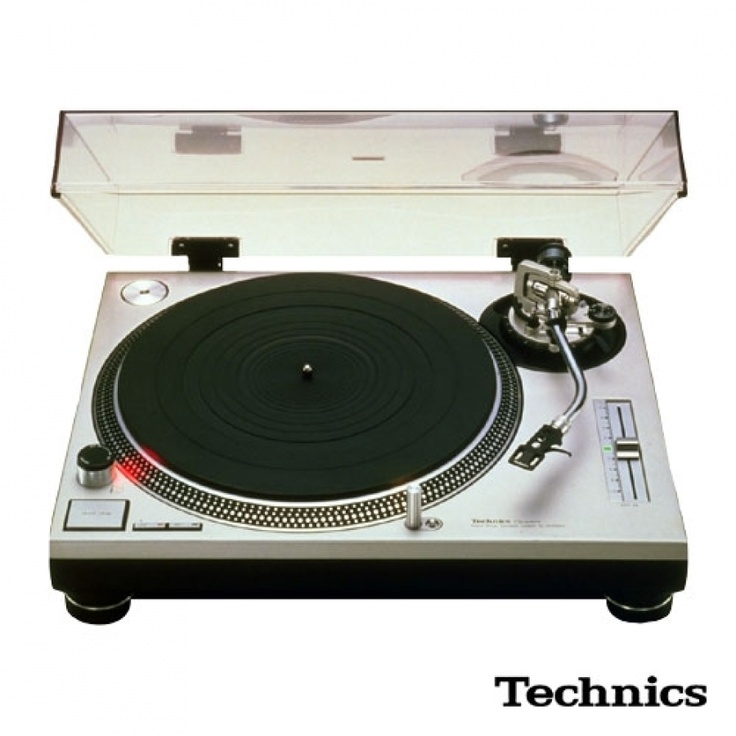 Technics SL-1200 Mark 2 (MK2) turntable (1979)