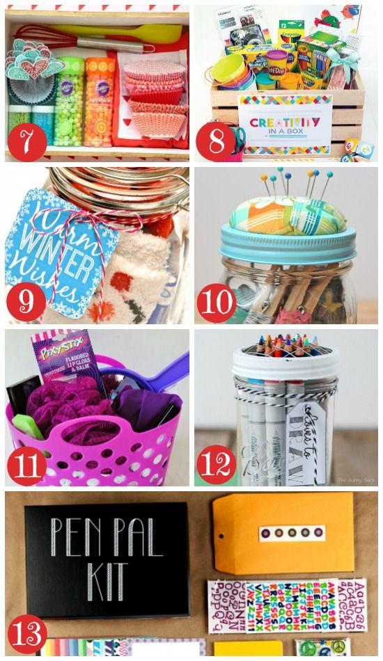 More Christmas Gift Baskets for Kids and Teens