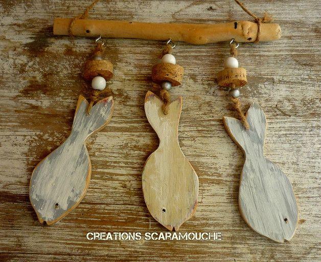Les 25 meilleures idées de la catégorie Poissons en bois flotté ...