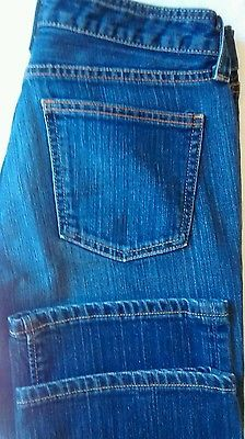 Gap 1969 Original Boot-Cut Blue Jeans - Size 8 Reg - Good Used Condition