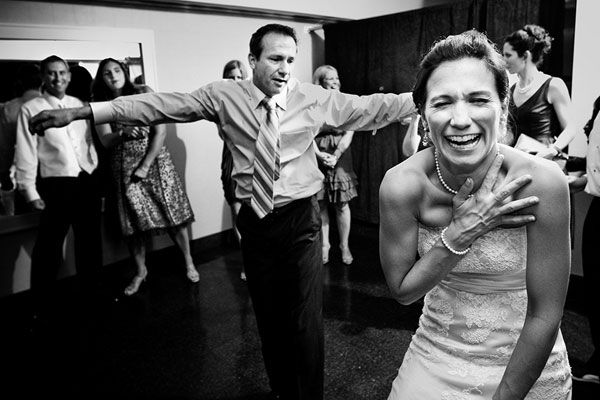 """Have a """"dance-off"""" at your wedding!"""