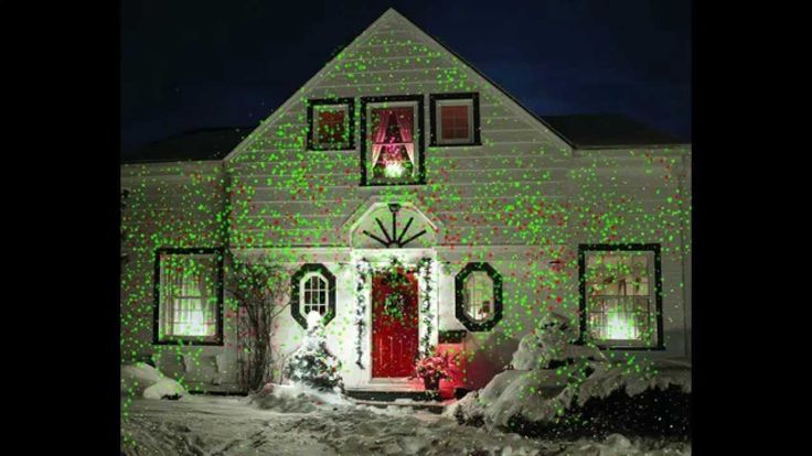 Holiday Outdoor Motion Light Projector