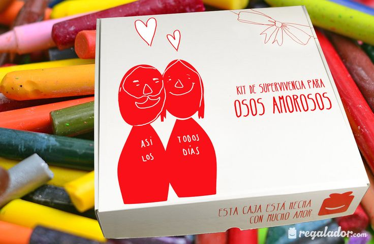 Kits de supervivencia para osos amorosos: talonario de vales, bombones