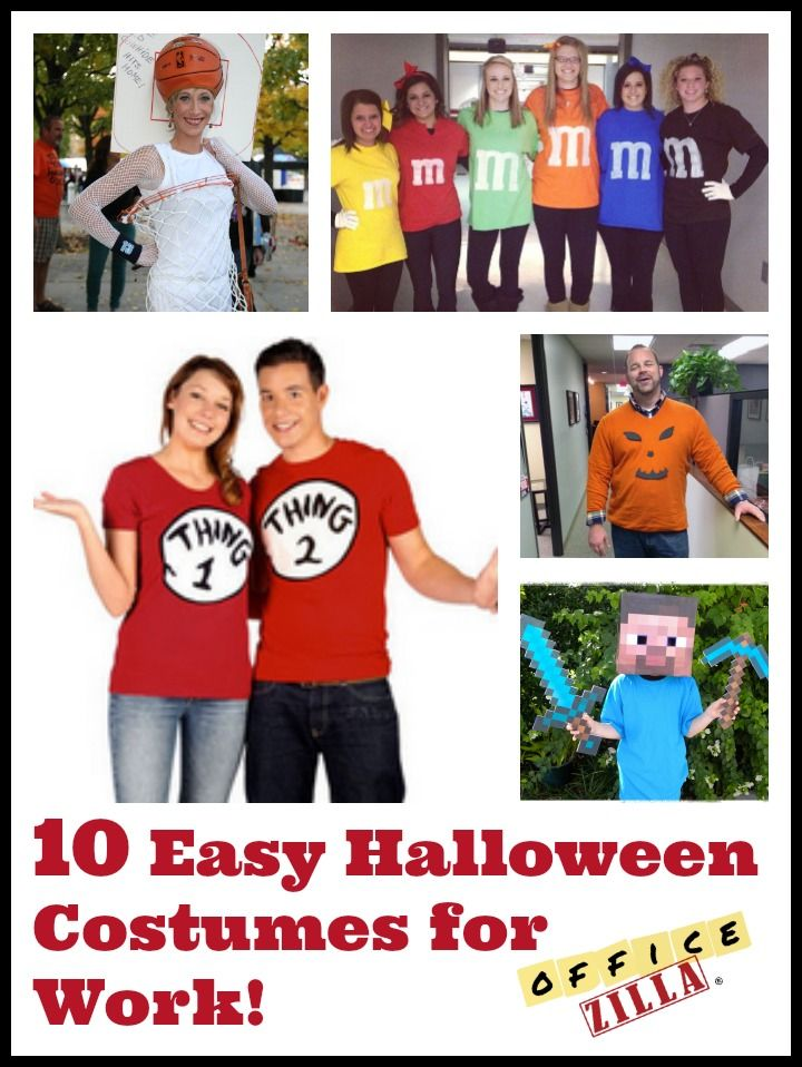 10 halloween costume ideas for work httpwpmep2qhap - Halloween At Work Ideas