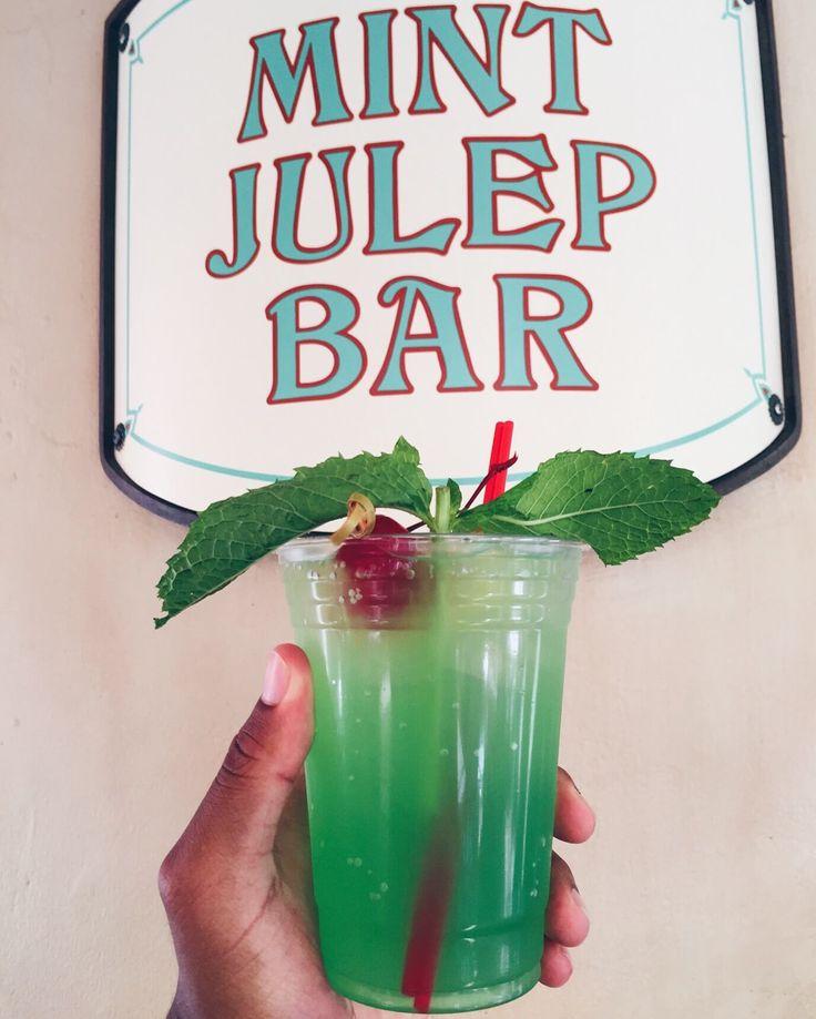 Mint Julep from Disneyland