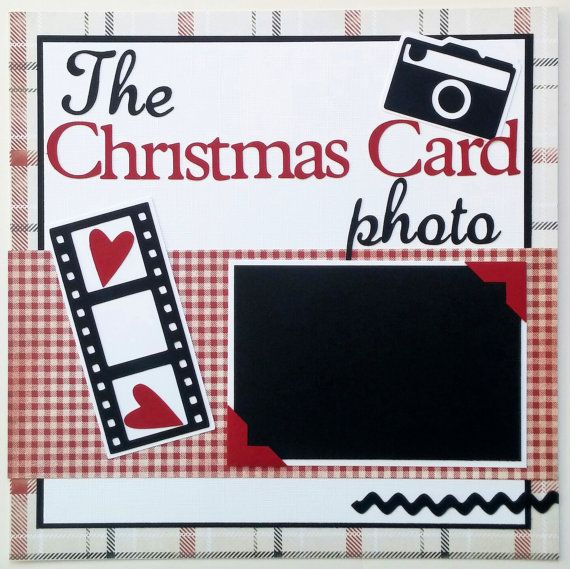 Christmas scrapbook layout 12x12 Christmas by ohioscrapper