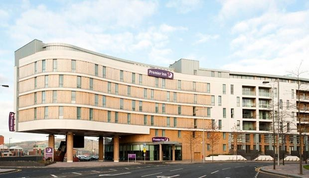 Book direct with Premier Inn Hotel Belfast Titanic Quarter and your next port of call could be tourist attractions, great shopping or fantastic nightlife. very close to proni