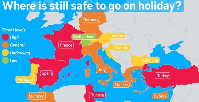 Top 10 Safest Countries To Travel In Europe As Of 12 20 17 Holidays Germany Safest Places To Travel Europe Travel
