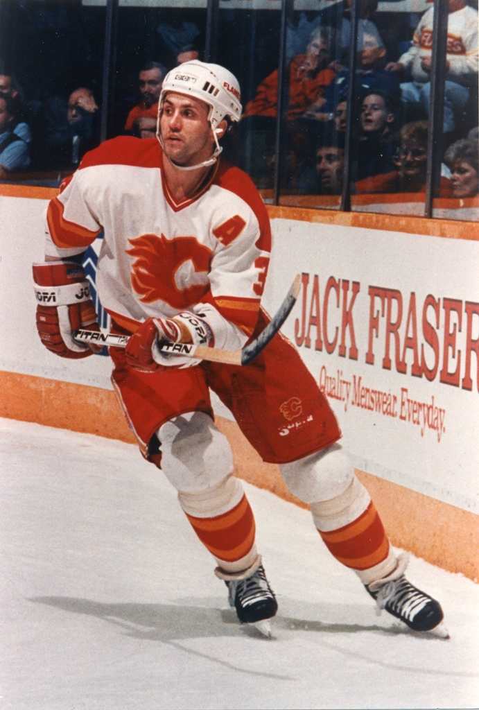Doug Gilmour played 3 and a half seasons with the Flames, notching 295 points in 266 games.